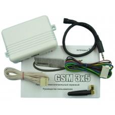 Автомобильная сигнализация GSM 3x5