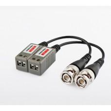 Комплект пассивных одноканальных приемо/передатчиков видеосигнала по витой паре DL-402