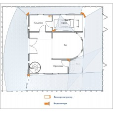 Система видеонаблюдения «под ключ» для частного дома