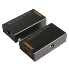 Одноканальный удлинитель HDMI сигнала по UTP кабелю EX1HD